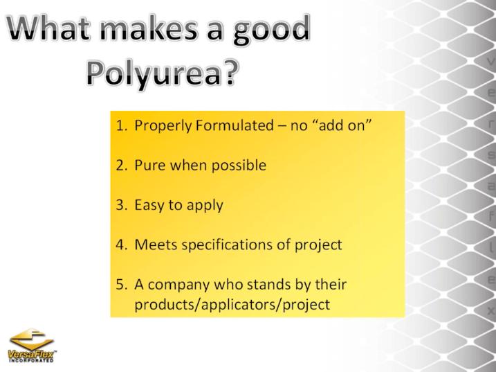 PolyureaCoatings
