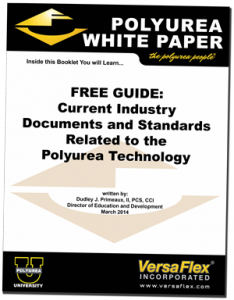 Polyurea Industry Standards and Documents