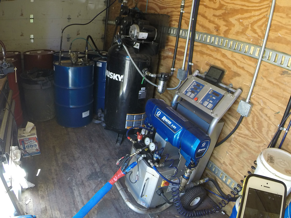 Timber Ridge Potable Water Tank Spray Equipment