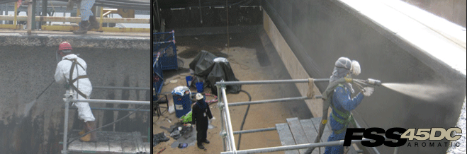 VersaFlex | Water Tank Coating : FSS 45DC Polyurea - VersaFlex