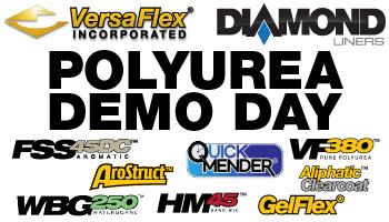 Polyurea Demo Day Versaflex