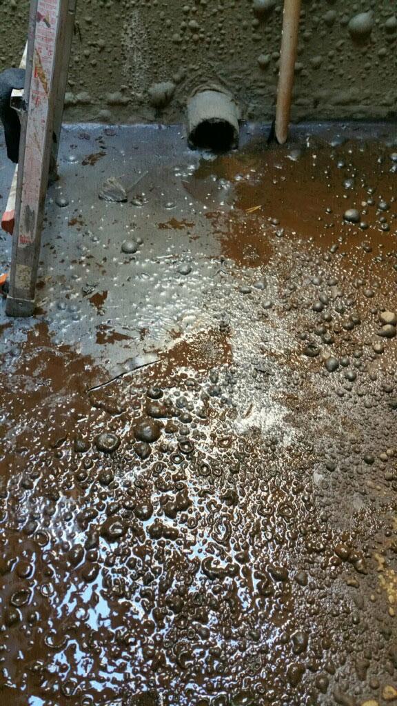 Timber Ridge Potable Water Tank Existing Coal Tar Epoxy Lining Failure