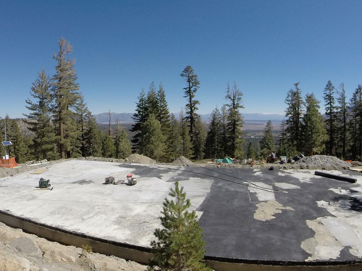 Timber Ridge Potable Water Tank Existing Exterior Lining Failure