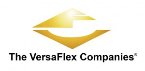 "The Versaflex logo with textbelow it saying ""The VersaFlex Companies"""