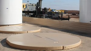 VF502 applied to a tank pad in standard tan.